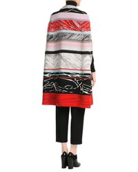 Missoni - Gray Wool Cape - Lyst