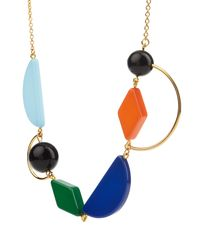 Marni - Multicolor Resin Necklace - Lyst