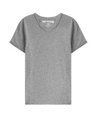 True Religion - Gray Cotton T-shirt for Men - Lyst