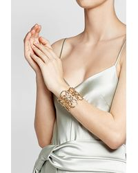 Gas Bijoux | Metallic Olympie 24k Gold Plated Cuff | Lyst