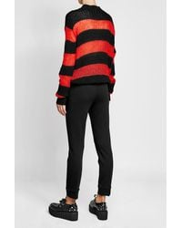 McQ Alexander McQueen - Multicolor Pullover With Wool, Mohair And Cashmere - Lyst