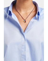 Marc Jacobs - Blue Pendant Necklace - Lyst