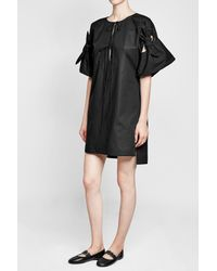 Three Graces London - Black Cotton Dress - Lyst