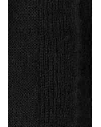 Rick Owens | Black Cardigan With Mohair And Wool | Lyst