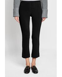 By Malene Birger - Black Flared Pants - Lyst