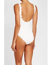 Marysia Swim - White Palm Springs Tie Swimsuit - Lyst