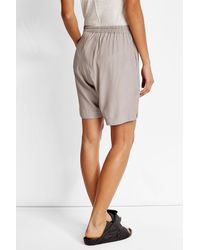 Rick Owens - Multicolor Jersey Shorts With Silk - Lyst