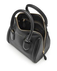 Alexander McQueen - Black Heroine Medium Leather Tote - Lyst