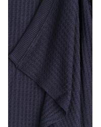 Velvet - Blue Knit Cardigan - Lyst