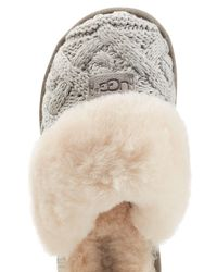 Ugg - Multicolor Knit Slippers With Sheepskin - Lyst