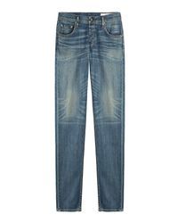Rag & Bone - Blue Straight Leg Jeans for Men - Lyst