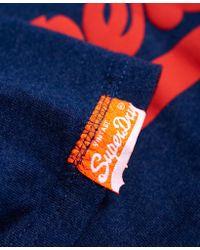 Superdry - Blue Shirt Shop Duo T-shirt for Men - Lyst