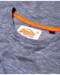 Superdry - Blue Orange Label Vintage Embroidery T-shirt for Men - Lyst