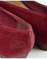 Superdry - Red Super Ballet Shoes - Lyst