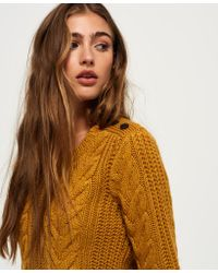 Superdry - Multicolor Jenna Cable Jumper Jumpers & Cardigans - Lyst