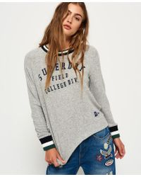 Superdry - Gray Brentwood Sweater - Lyst