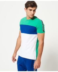Superdry - Multicolor Stadium Panel T-shirt for Men - Lyst