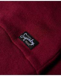 Superdry - Red Mimosa Applique Raglan Crew Jumper - Lyst