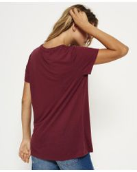 Superdry - Multicolor Super 6 Long Line T-shirt - Lyst