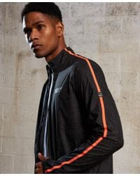 Superdry - Black Core Running Shell Jacket for Men - Lyst