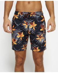 Superdry - Multicolor Vacation Paradise Swim Shorts for Men - Lyst