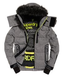 Superdry Multicolor Deluxe Nordic Snow Puffer Jacket for men