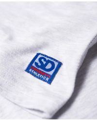 Superdry - Gray Ny Sport Embossed T-shirt for Men - Lyst