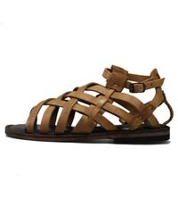 Sutro - Brown Montgomery Sandal Taupe - Lyst