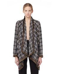 Share Spirit - Gray Wool Jacket - Lyst