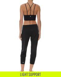 Sweaty Betty - Black Shanti Padded Yoga Bra - Lyst