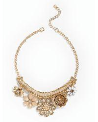 Talbots | Metallic Spring Garden Necklace | Lyst