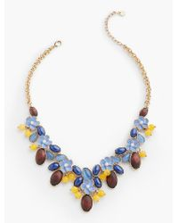 Talbots | Blue Spring Oasis Necklace | Lyst