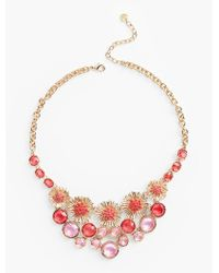 Talbots | Multicolor Spring Burst Necklace | Lyst