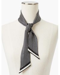 Talbots - Multicolor Boxed Gingham Mini Scarf - Lyst