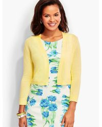 Talbots - Yellow Classic Dress Shrug - Lyst