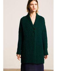 Tara Jarmon | Cozy Green Knit Sweater | Lyst