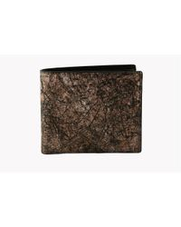 Tateossian | Washi Wallet In Brown - Card And Coin Pockets for Men | Lyst