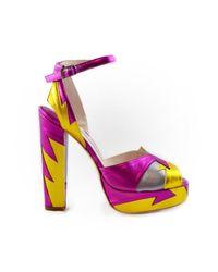 Terry De Havilland - Zia Pink/yellow - Lyst