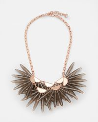 Ted Baker - Multicolor Flare Burst Necklace - Lyst