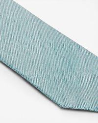 Ted Baker - Green Silk Textured Tie for Men - Lyst