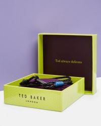 Ted Baker - Black Multiple Wrap Woven Bracelet for Men - Lyst