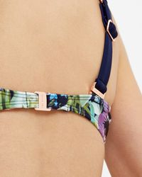 Ted Baker | Blue Entangled Enchantment Bikini Top | Lyst