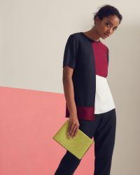 Ted Baker - Multicolor Haze Colour Block Top - Lyst