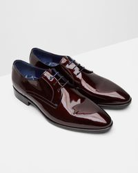 Ted Baker | Multicolor Patent Leather Derby Brogues for Men | Lyst