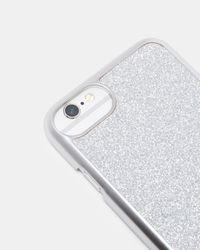Ted Baker | Metallic Glitter Iphone 6/6s/7 Case | Lyst