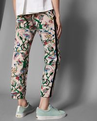 Ted Baker - Multicolor Jungle Print Trousers - Lyst