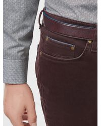 Ted Baker - Blue Mini Design Trousers for Men - Lyst