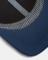 Ted Baker - Blue Mens Printed Cap for Men - Lyst