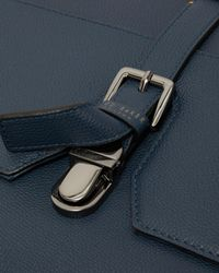 Ted Baker - Blue Leather Satchel for Men - Lyst