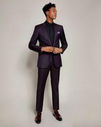 Ted Baker - Multicolor Pashion Jacquard Suit Jacket for Men - Lyst